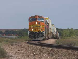 Railfanning the BNSF Red River Valley sub in Texas, 2005
