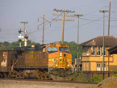 Click for week-long railfanning trip through Texas